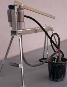 Pompa cu piston manuala PA-HD250, compresie lucru 0-250 Bar