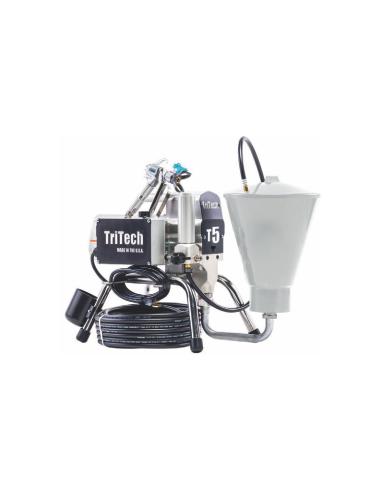 Pompa vopsit si zugravit airless TriTech T5 cu AirCombi