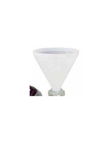 Rezervor 30L de 4 inch cu flansa, alb