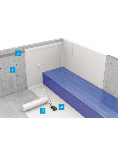Membrane TPO pentru bazine apa potabila