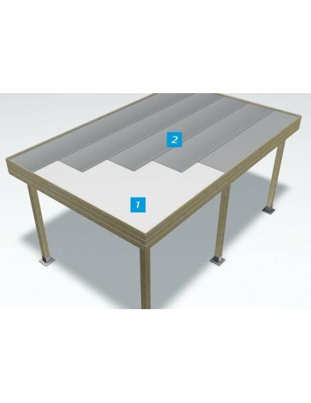 Membrane auto-adezive pentru acoperis