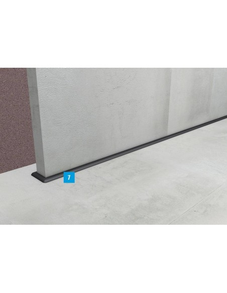 Bariere orizontale sub peretii in constructie